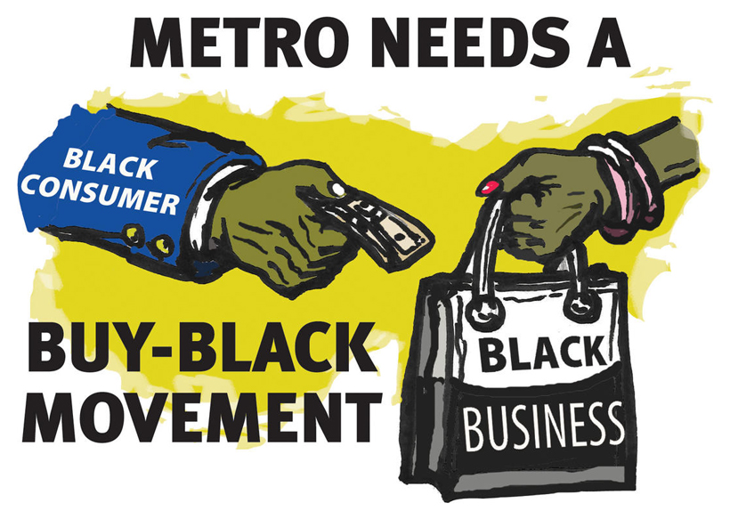 Buy Black (via Twin Cities Daily Planet)
